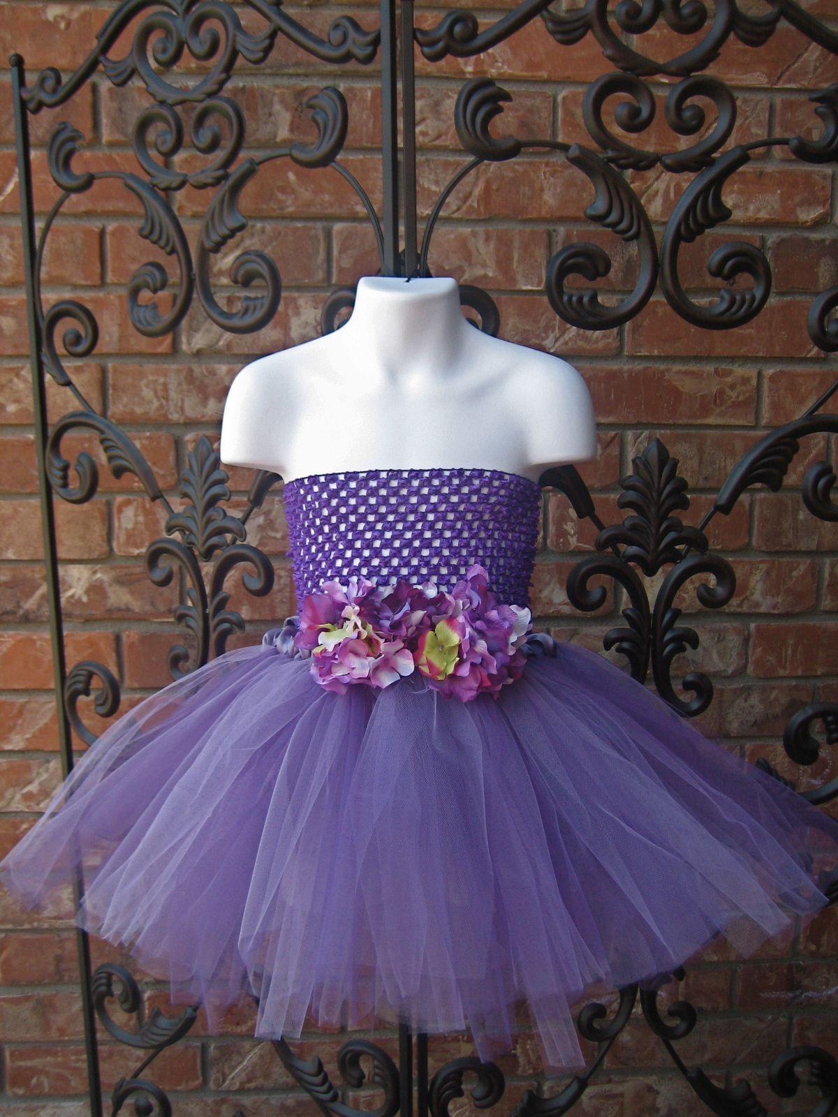 Purple Tutu Dress Flower Girl Dresses Tutu Purple Tutu Flower Girl Tutu [ 1600 x 1200 Pixel ]