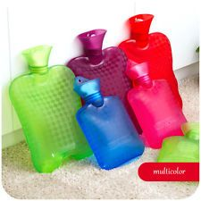Thick Transparent PVC HOT Water BAG Bottle Warm Relaxing Heat Cold Therapy | eBay