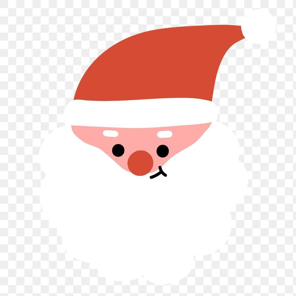 Santa Emoji Transparent