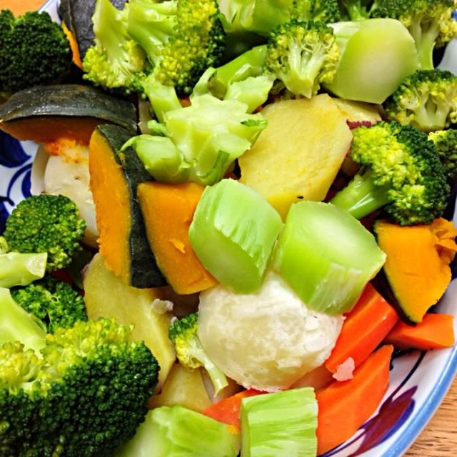 バーニャカウダ でいただきました。 ウマ〜〜‼︎ - 6件のもぐもぐ - 温野菜 by yuzuanzu