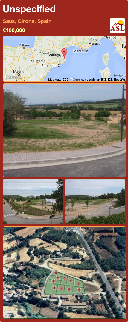 Unspecified in Saus, Girona, Spain ►€100,000 #PropertyForSaleInSpain