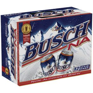 Busch Non Alcoholic Beer 12 Pack Beer 12 Fl Oz Cans Walmart Com Non Alcoholic Beer Non Alcoholic Beer Case
