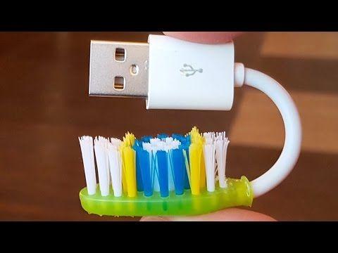 5 افكار ستسهل عليك حياتك بفرشاة الاسنان