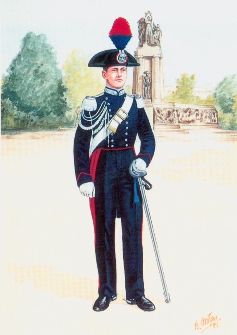 Matrimonio In Alta Uniforme Esercito : Regio esercito carabiniere in alta uniforme wwii