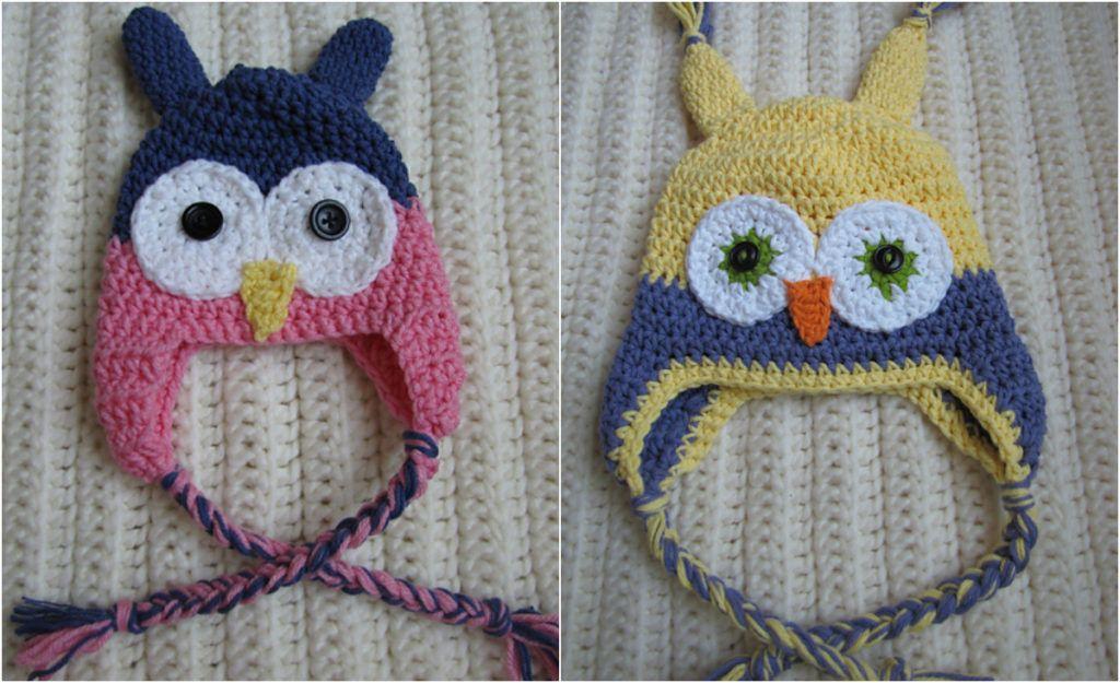 toddler-owl-hat | crochet for dolls/babies | Pinterest