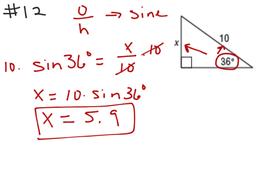 Geometry Ch 8 Test Rev #12