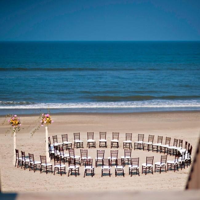 Beach Wedding Aisle Idea