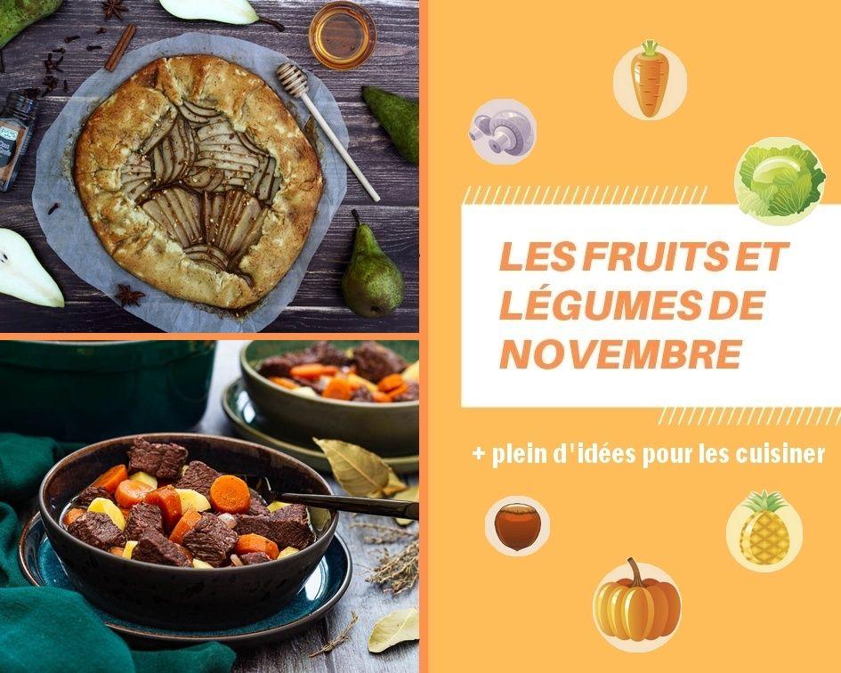 Les fruits et légumes de novembre - Amandine Cooking