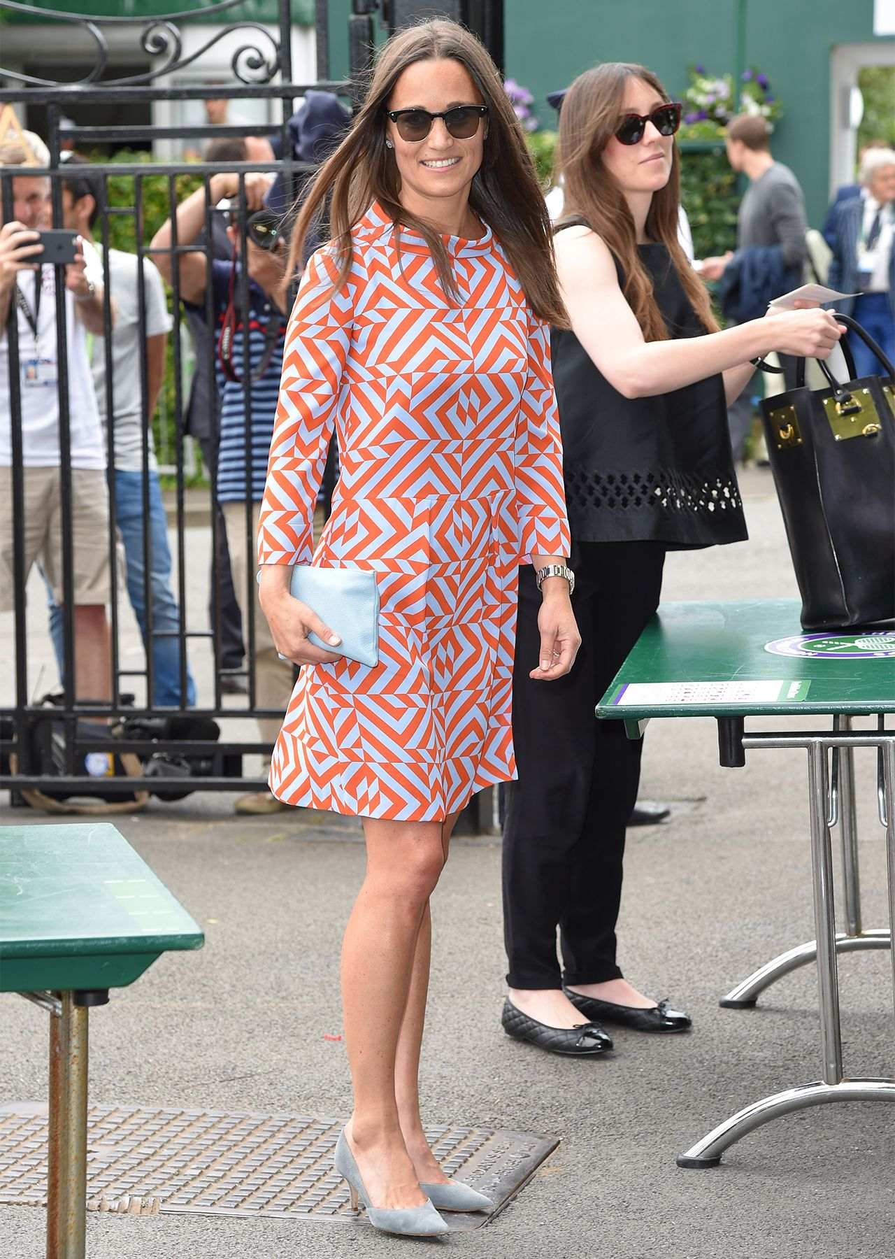 Pippa Middleton continues her reign as Wimbledon\'s fashion queen in ...