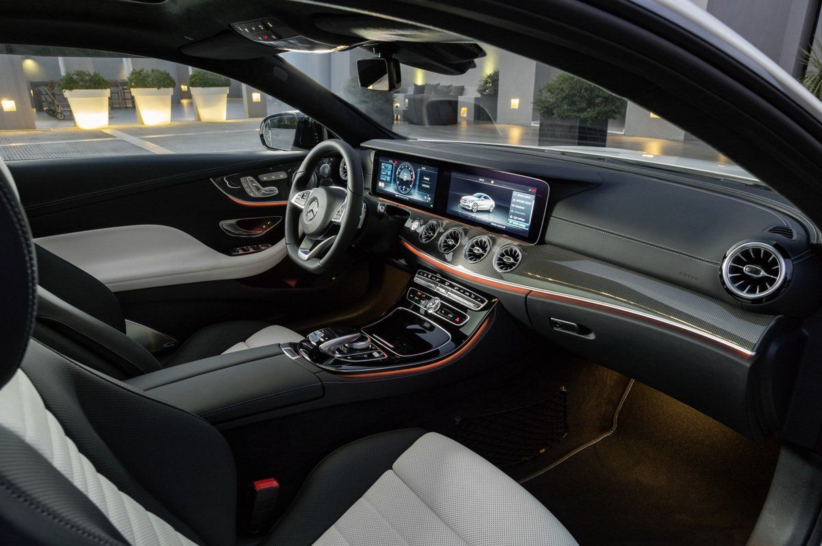 The Mercedes E400 Coupe Is Loaded With Impressive Tech But