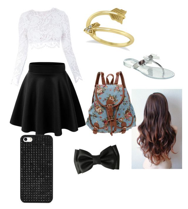 """""""car ride"""" by keyanagarcia ❤ liked on Polyvore featuring Stone_Cold_Fox, BaubleBar and Allurez"""