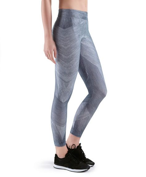 Legging geométrico grises