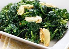 Roasted Broccoli Rabe with Garlic | Skinnytaste