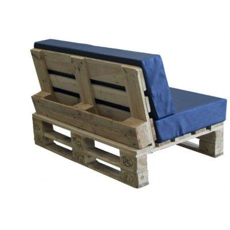 Conjunto palet jardin terraza nilo pistacho sillones de for Sofa exterior reciclado