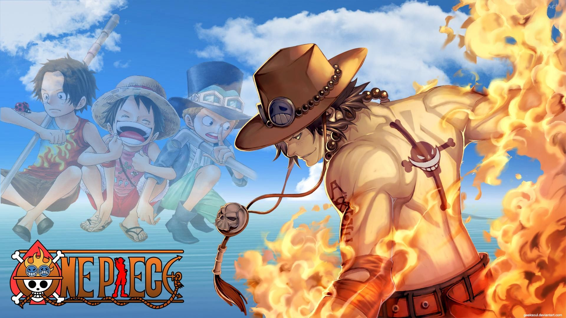 One Piece Ace Wallpapers Wallpaper Cave One Piece Ace Anime Ace And Luffy