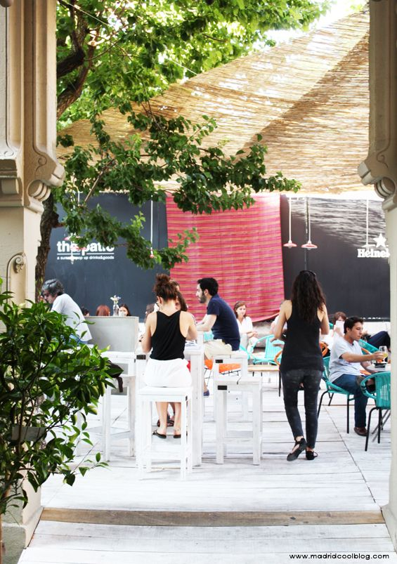 The Patio El Summer Pop Up De Moda En Madrid