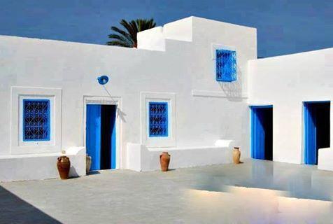 Architecture Djerbienne Maison Maison De Vacances Djerba
