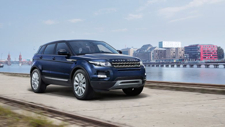 range rover evoque 39 s prestige model in loire blue this is. Black Bedroom Furniture Sets. Home Design Ideas