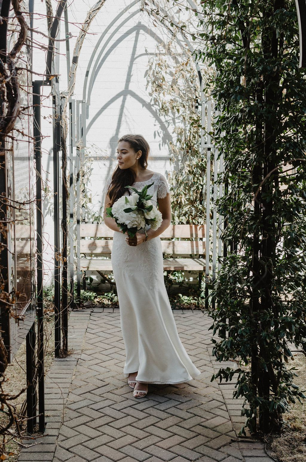 Simple Elegant Ethical Bridal Fashion Editorial In Toronto Forest Wedding Dress Bridal Style Wedding Dresses