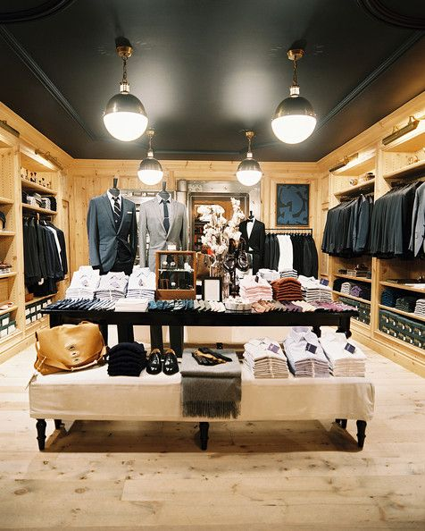Retail Design Ideas retail showroom interior design ideas looking for tips about woodworking httpwww Retail Store Design Rustic Photo Clothing On Display At The Jcrew Mens Shop