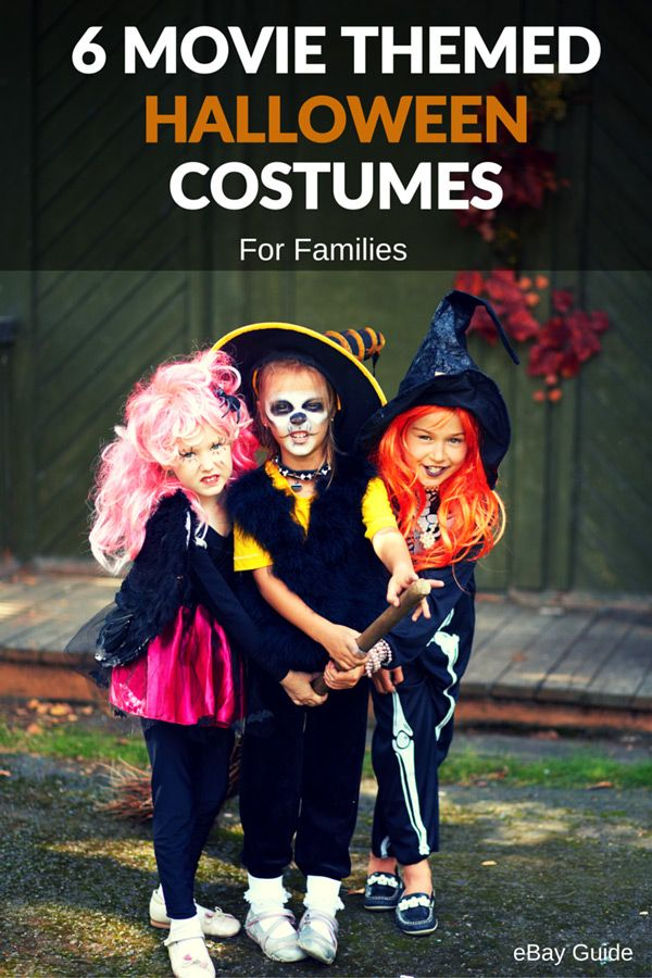 6 movie themed Halloween costumes for families. That includes costumes for women men  sc 1 st  Pinterest & 6 Family Movie Themed Halloween Costumes | Pinterest | Halloween ...