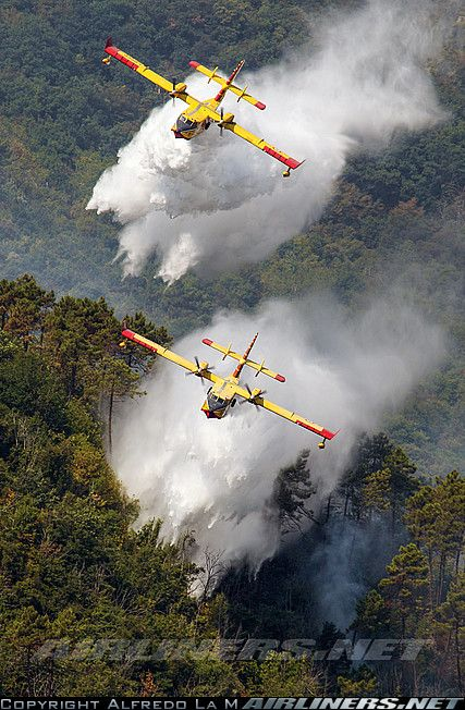 Canadair CL-415 (CL-215-6B11) aircraft picture