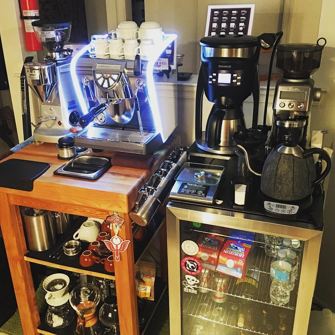 Just finished cleaning my espresso and coffee stations