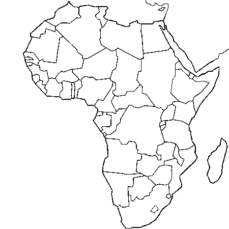 Carte afrique a imprimer recherche google carte - Carte du monde a imprimer gratuite ...