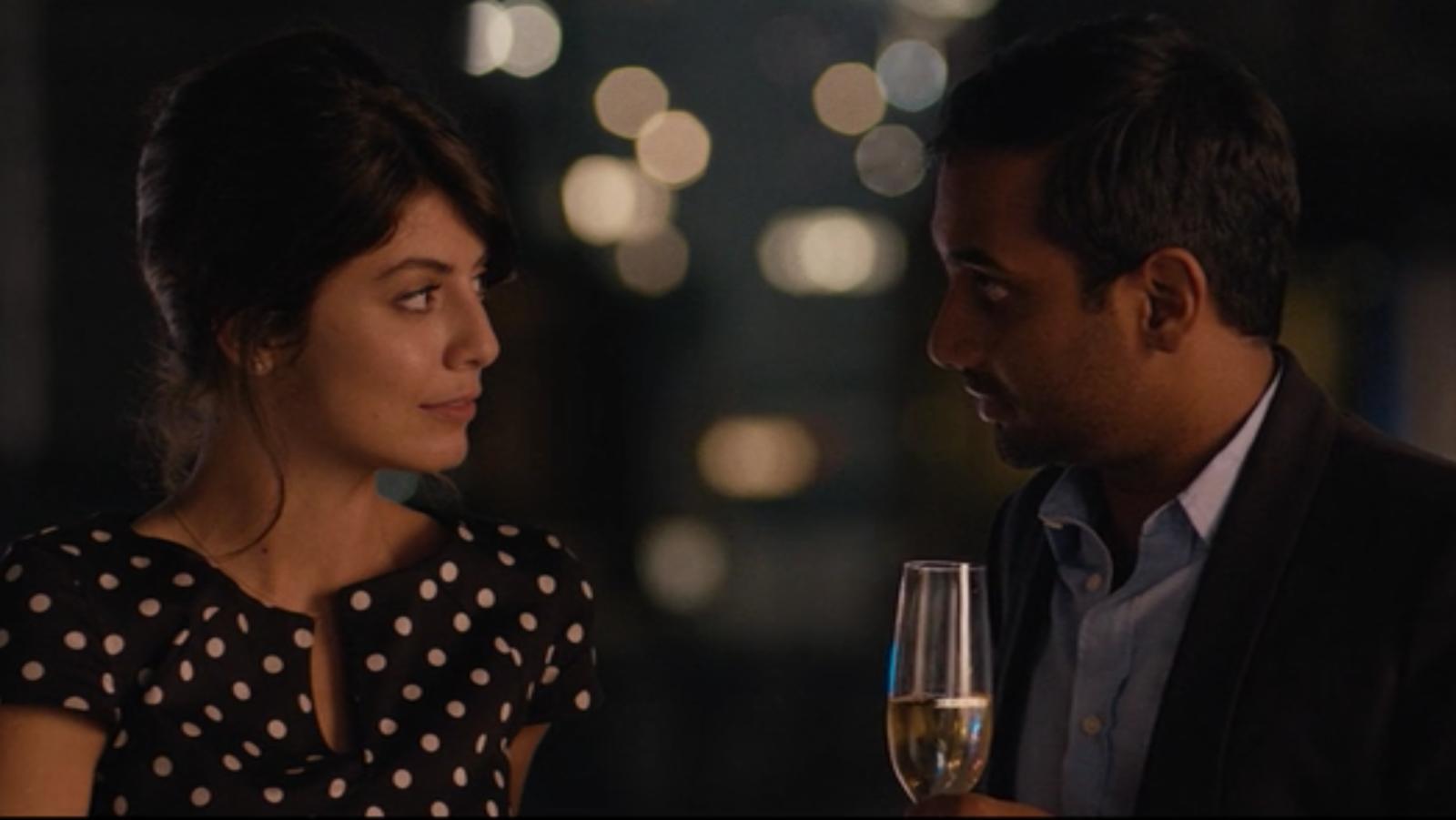 Online Dating Aziz Ansari