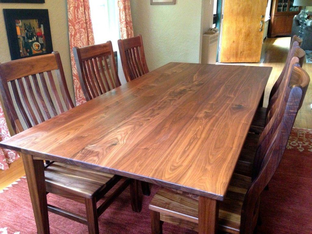 Walnut Table Top  Recherche Google  Walnut Dining Table Fair Maple Dining Room Table Inspiration