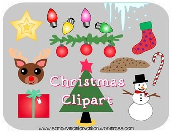 Free Christmas Clipart For Commercial Use Christmas Clipart Clip Art Preschool Christmas