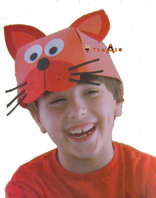 moldes chapeus de animais - Pesquisa Google