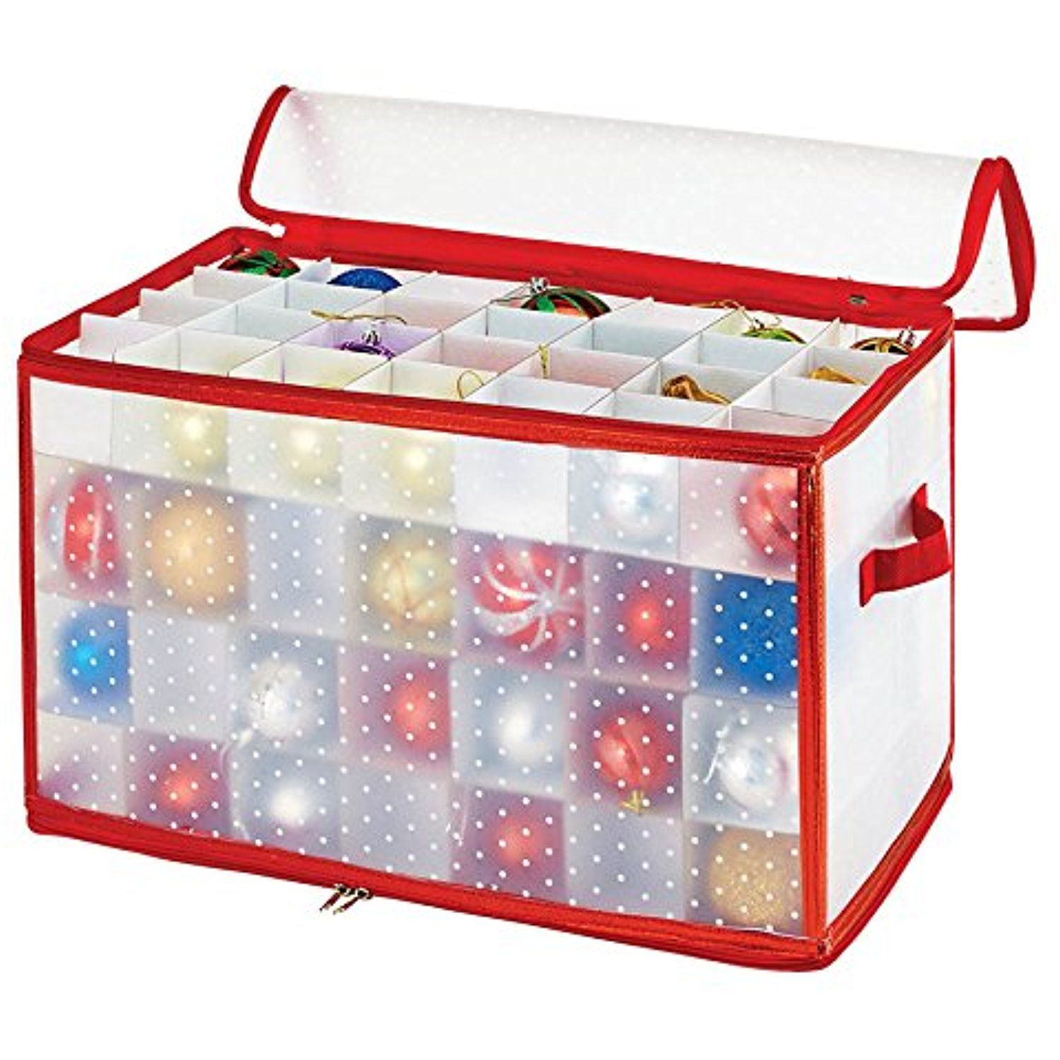 Christmas Tree Storage Box Rubbermaid New Simplify 112Count Christmas Ornament Storage Box  Click On The Inspiration