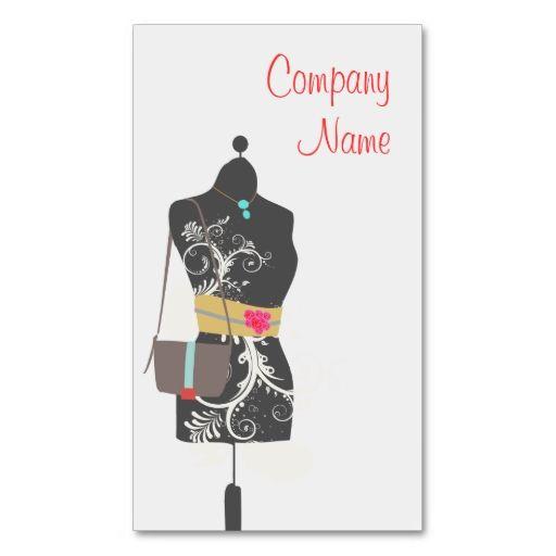 Consignment Fashion Accessory Boutique Business Card Zazzle Com Boutique Business Cards Fashion Business Cards Clothing Boutique Ideas
