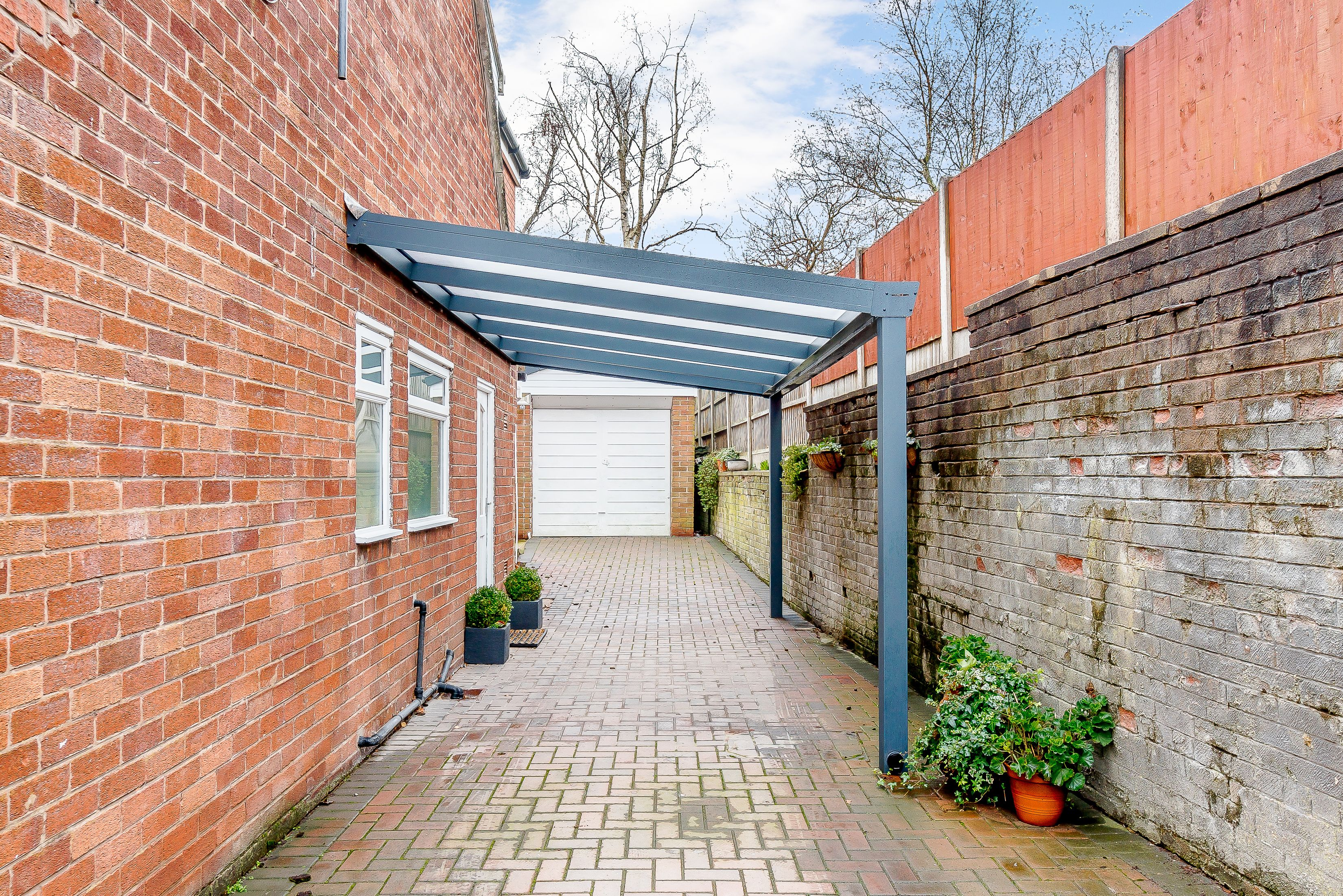 Pin by SunSpaces on CASE STUDY Carport in Cheshire