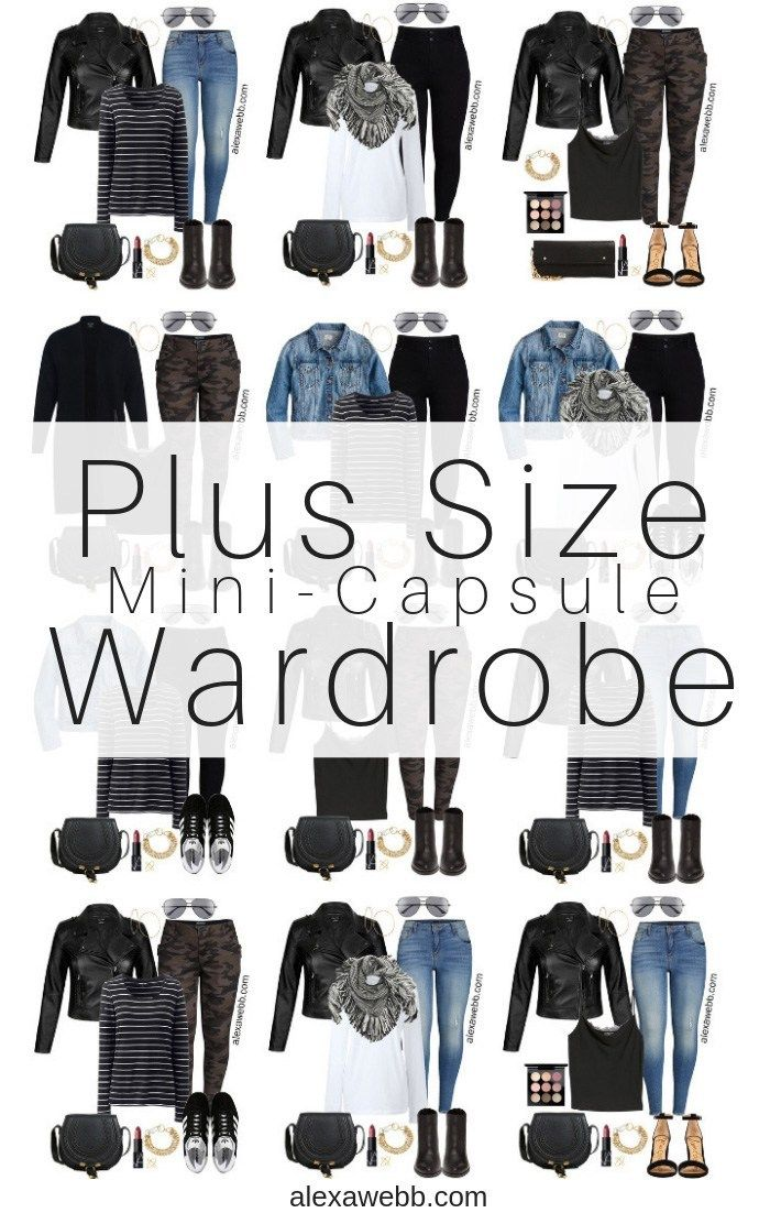 Photo of Plus Size Fall Capsule Wardrobe – Alexa Webb