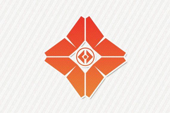 Decal Destiny Ghost Symbol By Fenyxdesignshop On Etsy Geek Tattoo Video Game Symbols Destiny Bungie