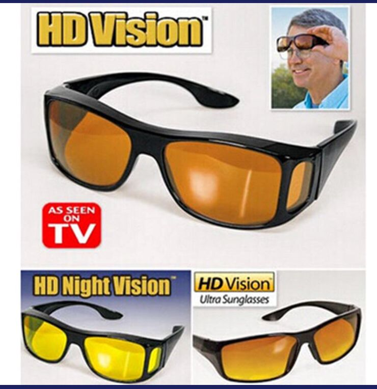 941eb27631 HD Night Vision Sunglasses to help people see Better at night time ...