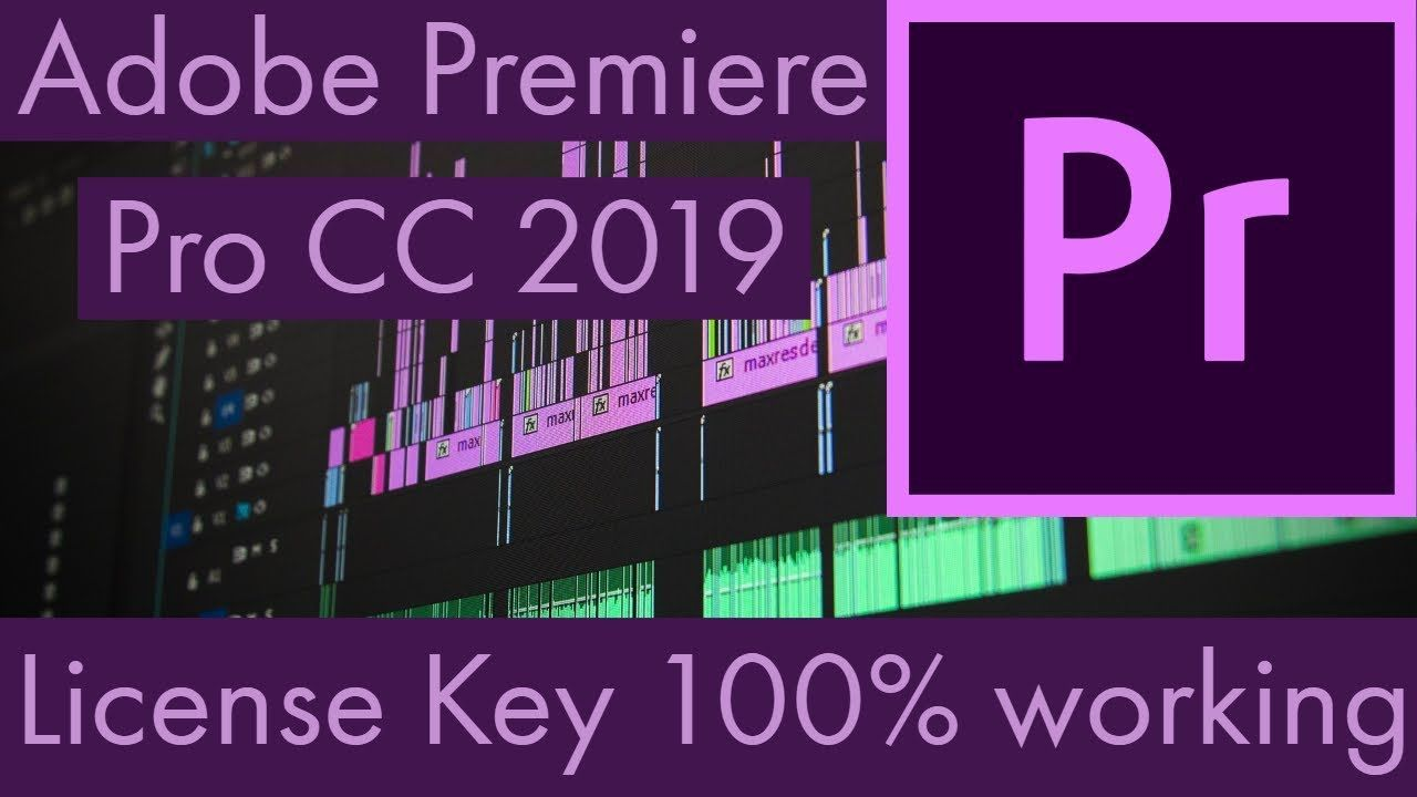 Adobe Premiere Pro CC 2019 With License Key | How To 4U | Adobe