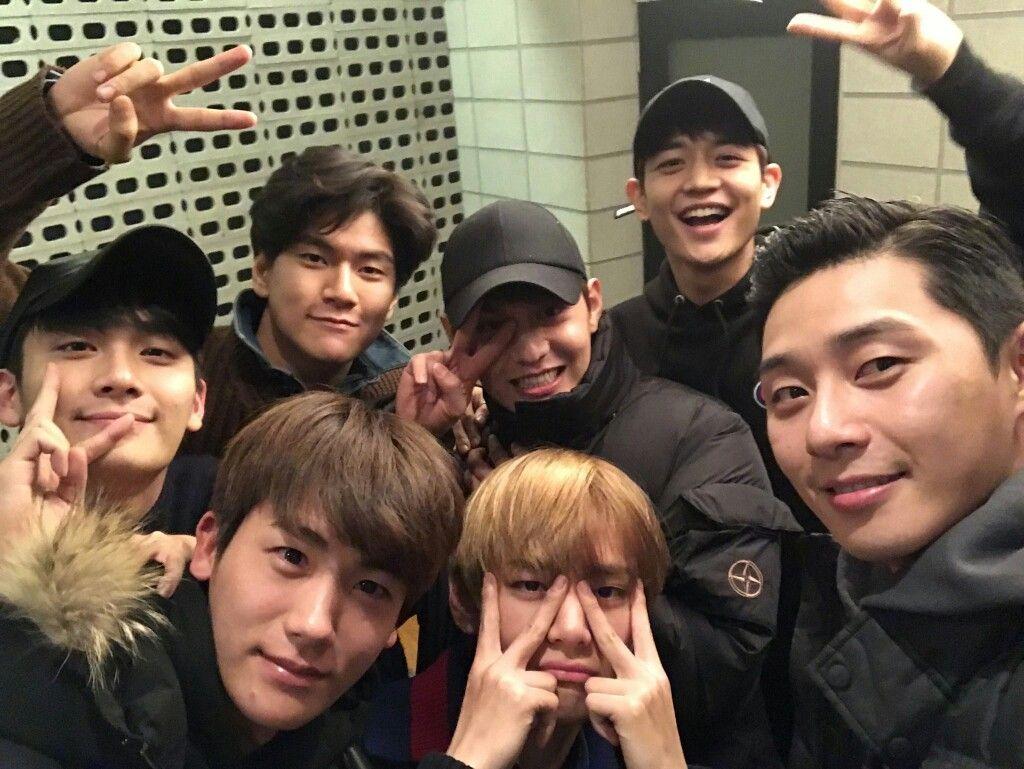 V Hwarang Casts Hwarang Wooga Taehyung