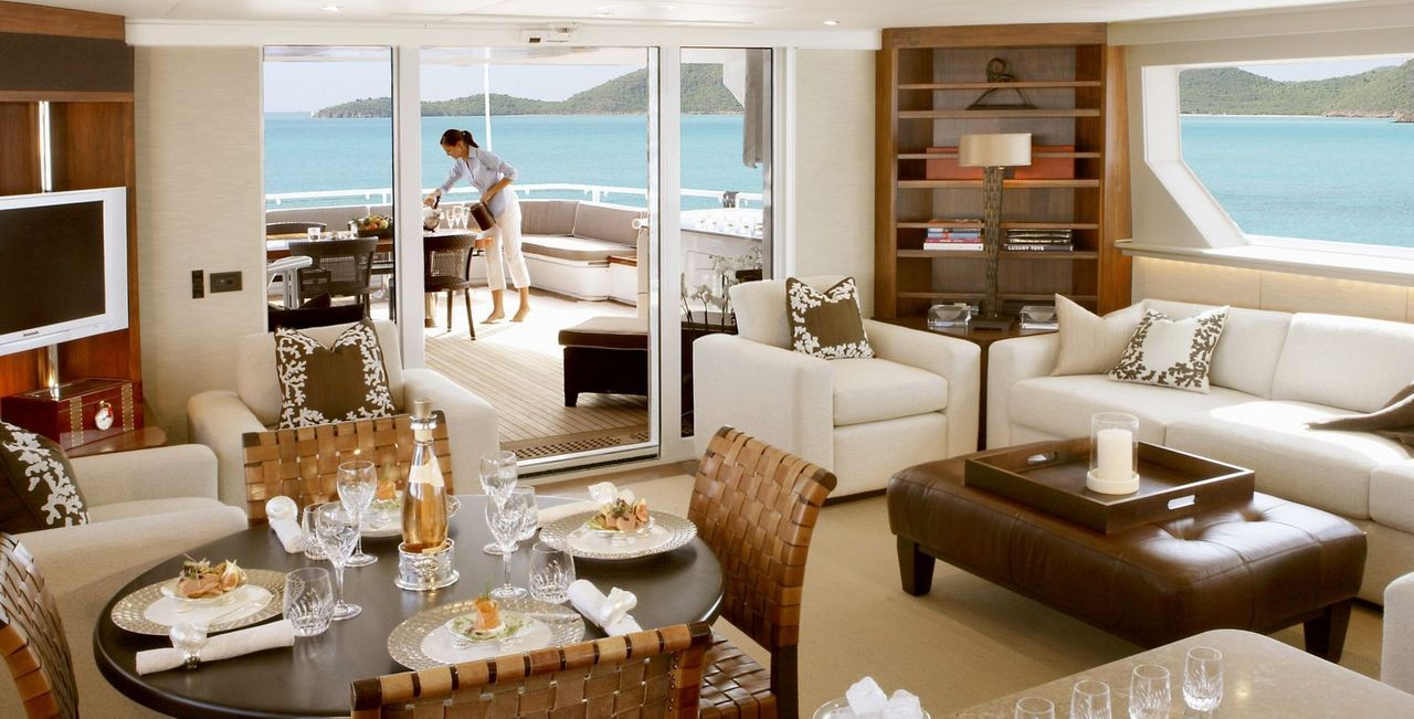 It's a matter of LifeStyle.  www.flightpooling.com Everyone's Private Jet Yachting: Luxury Yacht�s Interior #luxury