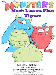 Monster Mash Lesson Plan Theme