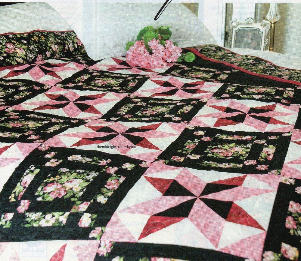 Details about Black Beauty Quilt Pattern Pieced JB | Quilt, Beauty ... : jb quilting - Adamdwight.com