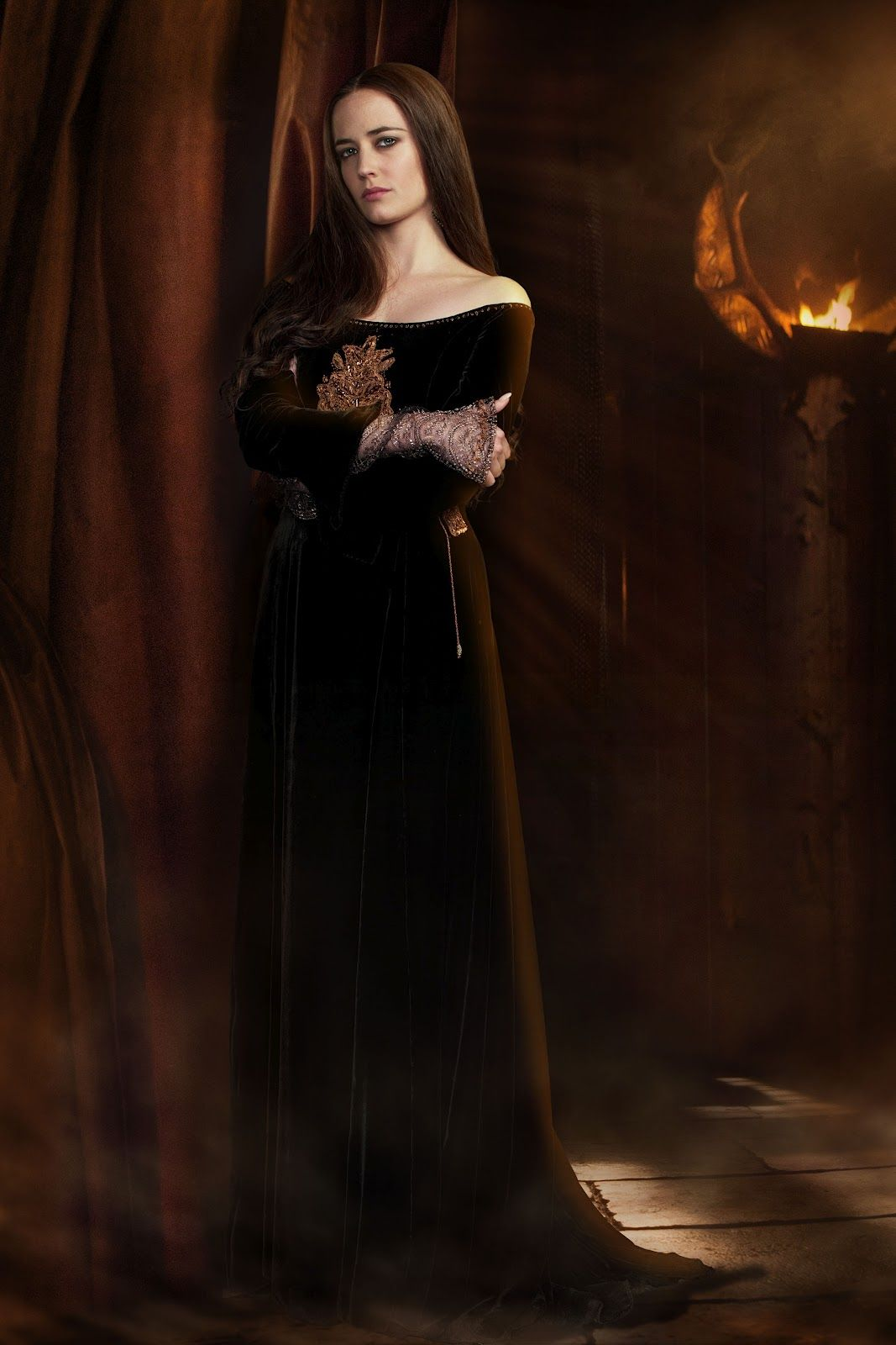 Eva Green As Morgan Le Fay In Camelot 31 At Time Of