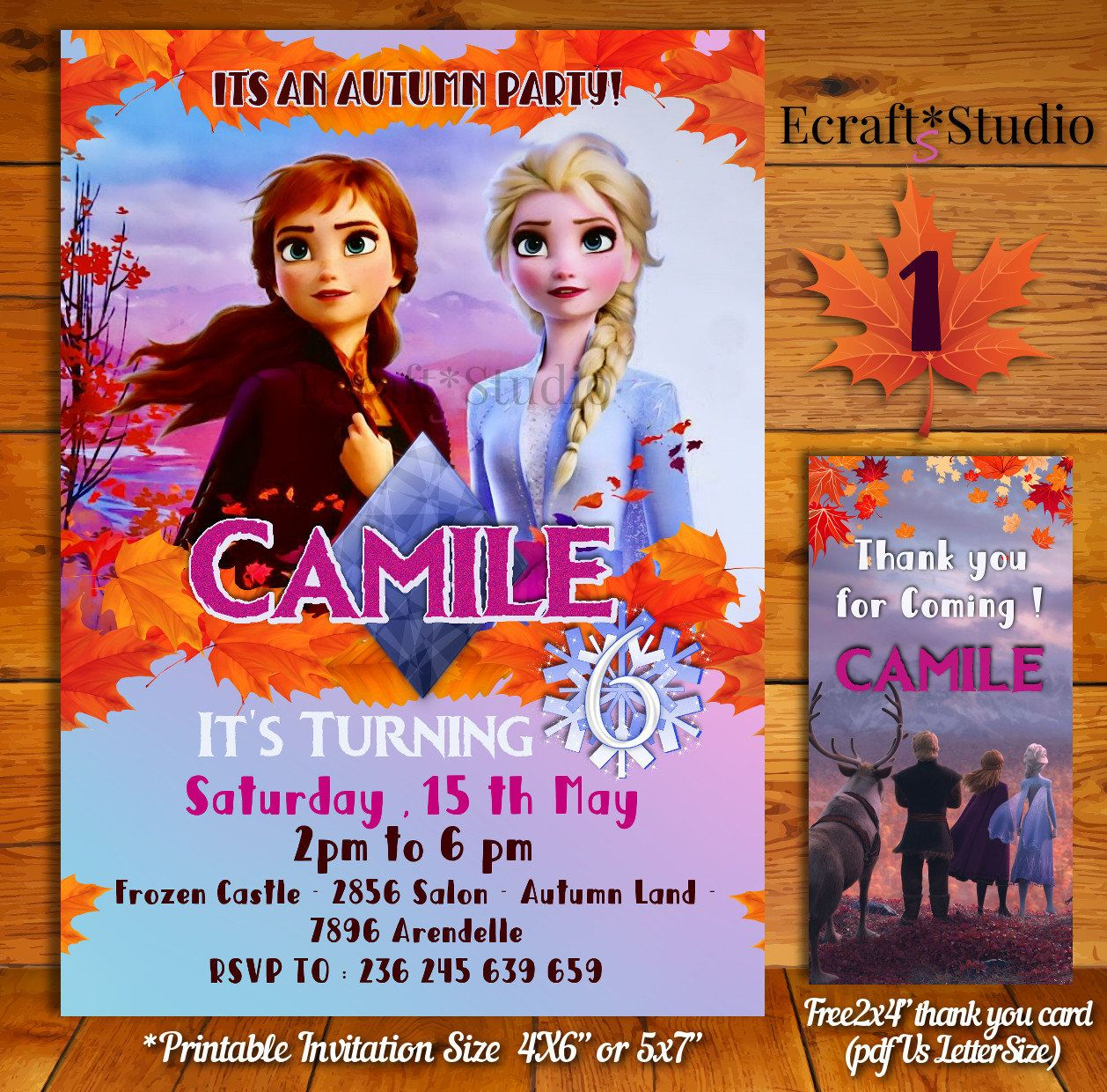 Pin On Frozen Party Invitations And Birthday Ideas