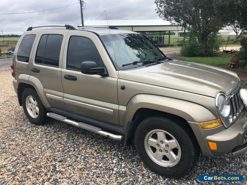 2006 Jeep Liberty 4dr Sport 6Speed Manual 4dr Sport