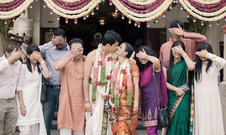 Unusual Photo of an Indian Wedding
