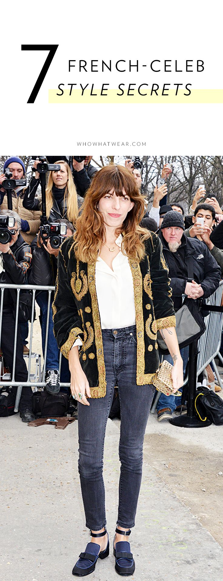 7 Style Secrets from Frances Most Fashionable Celebs