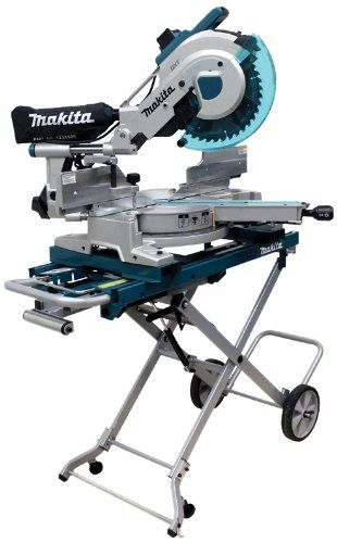 Makita Ls1216lx4 12 Inch Dual Slide Compound Miter Saw With Laser And Stand In 2020 Miter Saw Compound Mitre Saw Makita