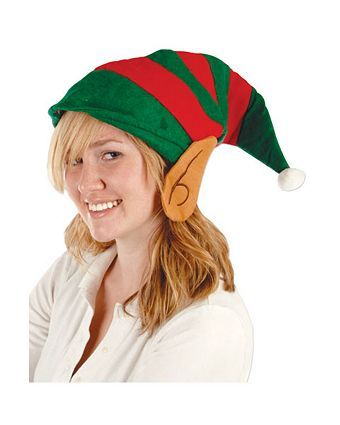 8fc44046014c6 Felt Elf Hat with Ears for Adults Felt Elf Hat with Ears Adult ...